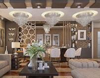Apartment Reception Interior Design