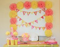 Event Decor (1st Birthday)