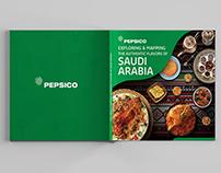 Pepsico Saudi Flavors Catalog Design