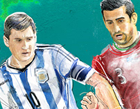 World Cup 2014 - Messi (IRAN in World Cup)