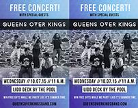 Queens Over Kings Promo Flyer
