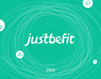 Justbefit identity, web and iOS