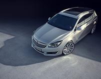 Light and shadow - Opel Insignia - Full CGI
