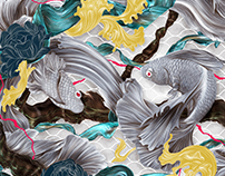 Art of the Siamese Fighting Fish