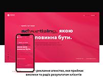 Lux advertising agency website