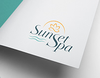 Sunset Spa - Corporate identity