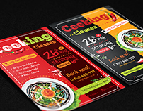 Cooking Poster / Flyer Templates