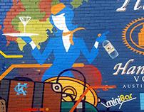 Tito's Vodka Mural