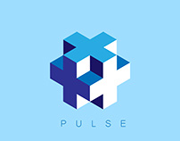 Pulse Logo Design | Adobe Illustrator