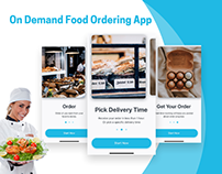 On Demand Food Ordering App