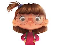 """""""Little Boy and Little Girl"""" for Zara Kids"""