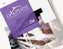 Université Dauphine - Rapport d'activité 2014