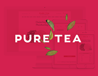 Pure Tea Redesign