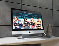 Streaming TV Landing Page