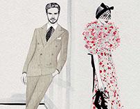 Nicole Jarecz / Fashion week : Inspirations / Paris