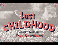 FREE FONT - Lost Childhood