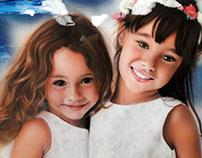 Airbrush sisters