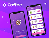 Q Coffee - Mobile app