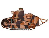 Historic Tanks for Military History magazine