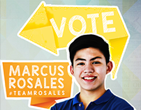 Student Campaign Poster: Marcus Rosales (UP Student)