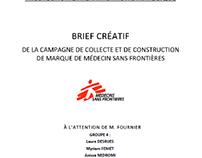 Brief créatif MSF