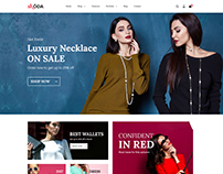 Moda - Fashion eCommerce PSD Template