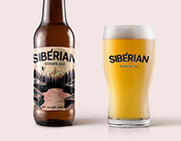 Siberian strong ale. Craft beer by AMADEUS