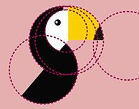 Golden Ratio Toucan Logo