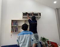 Sửa máy lạnh Sanyo