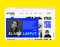 Mythos Festival website