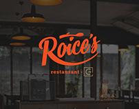Roice's Restaurant - Branding
