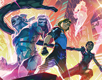Fantastic Four 2099 COVER