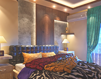 Swappable Coatings Master Bedroom