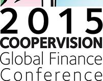 Logo Design 2015 CooperVision Global Finance Conference