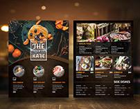 Restaurant Menu vol 50