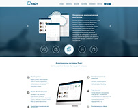 UX / UI design for the content management system