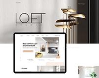 LOFT studio web design