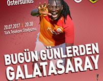 Bugün Günlerden Galatasaray Galatasaray - Östersunds
