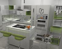 10/2015 Diseño Interior Cocina/ Kitchen Interior Design