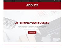 Adduce Corporate Website Concept