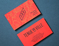 Tenue De Ville - Identity & stationery