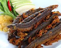 Cá bóng kho tiêu ngon nổi tiếng ở vùng sông nước Trà Gi
