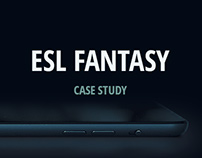 ESL Fantasy - Create and manage your fantasy team