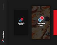 Domino`s Pizza App UX / UI Design
