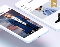 Curation Style Shop INTERVIEW APP.
