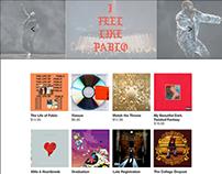 Kanye Mafia - Responsive Web Design