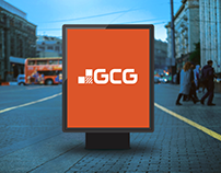 Logo Design GCG – Georgian Construction Group.