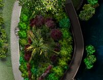 Aerial View Render 2D
