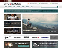 Shoebacca Website Redesign
