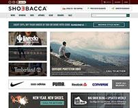 Shoebacca Website Redesign